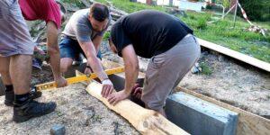 Příprava betonáž 1