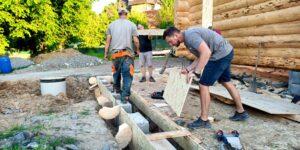 Příprava betonáž 2