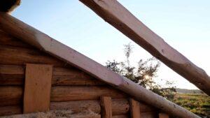 zabroušené krovy